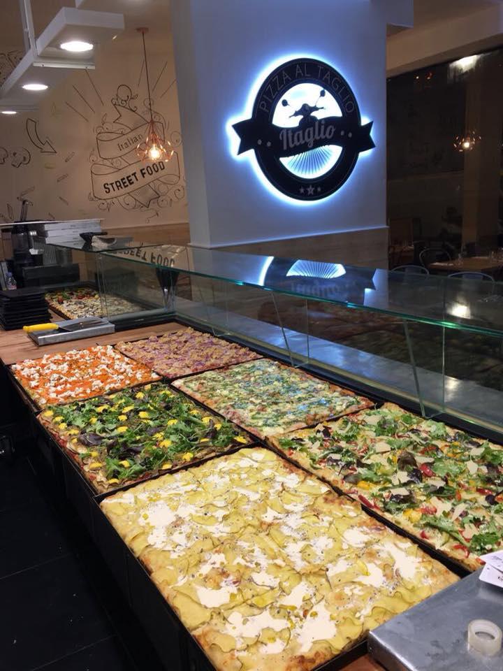 Pizza à la coupe - Restaurant Levallois 92 - Itaglio
